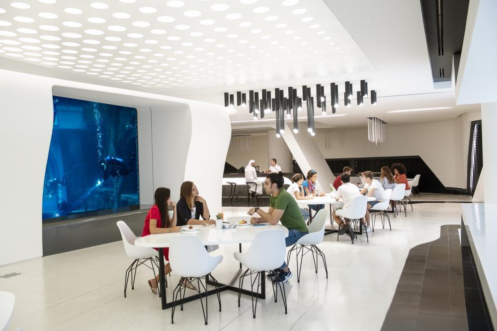 餐廳/Deep Dive Dubai/深潛游泳池/杜拜