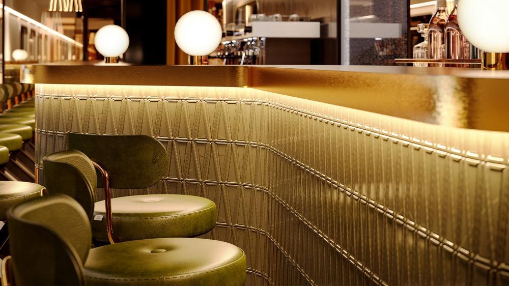 酒吧/夜間列車/巴黎/法國