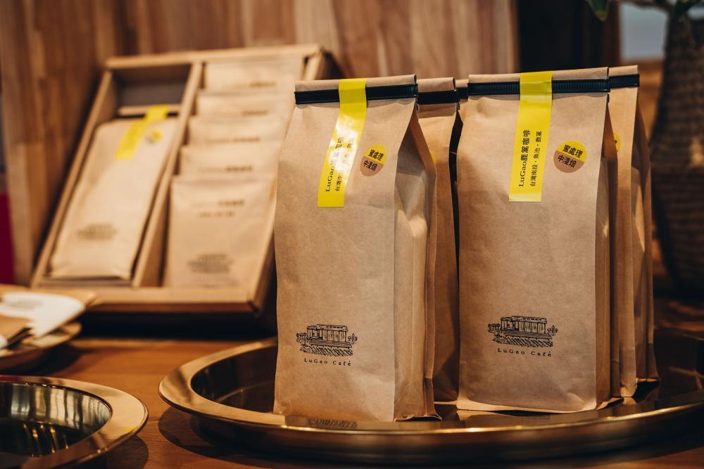 咖啡豆/鹿篙咖啡莊園/茶園/南投/台灣