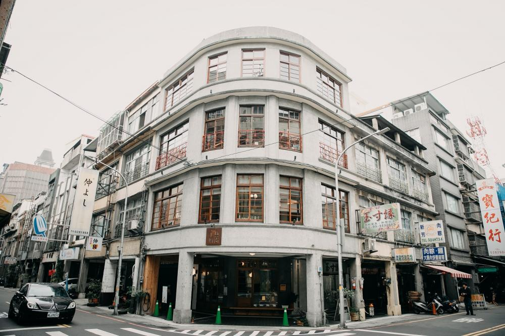 外觀/或者工藝櫥窗/複合式咖啡廳/新竹/台灣