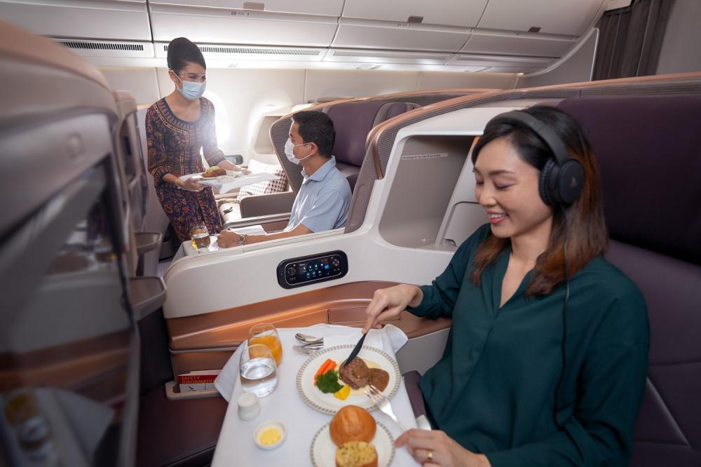 商務艙/新加坡航空/直飛航線/台北/洛杉磯