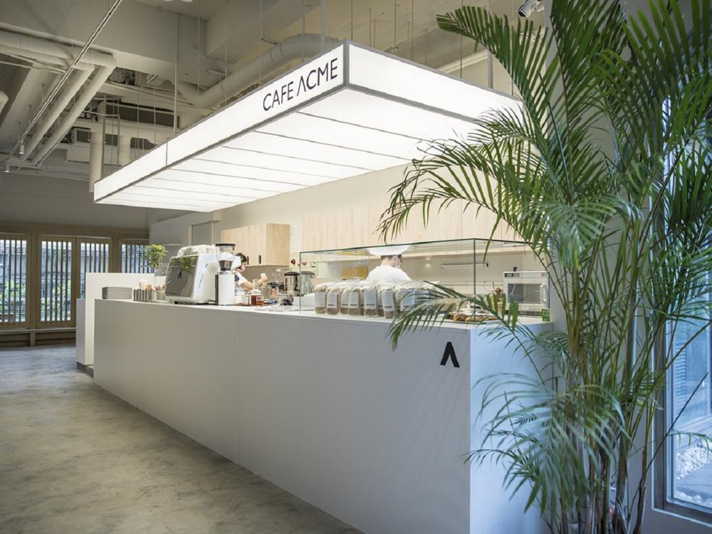 店內空間/CAFE ACME/複合式咖啡店/台北/台灣