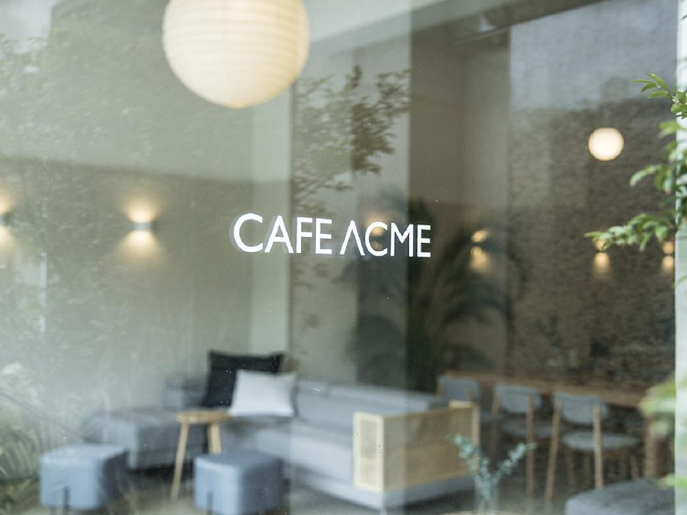 招牌/CAFE ACME/複合式咖啡店/台北/台灣