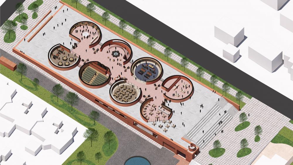 設計圖/塔博.姆貝基總統圖書館/大衛.阿賈耶/非洲