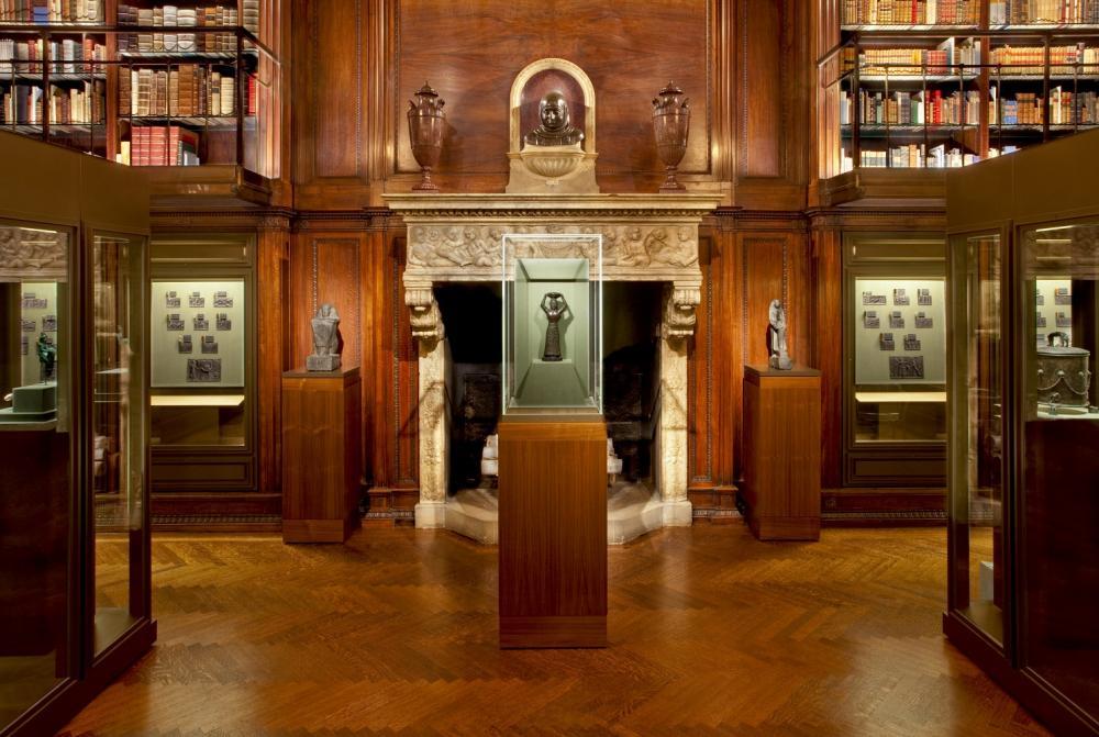 內部/摩根圖書館與博物館/曼哈頓/紐約/美國