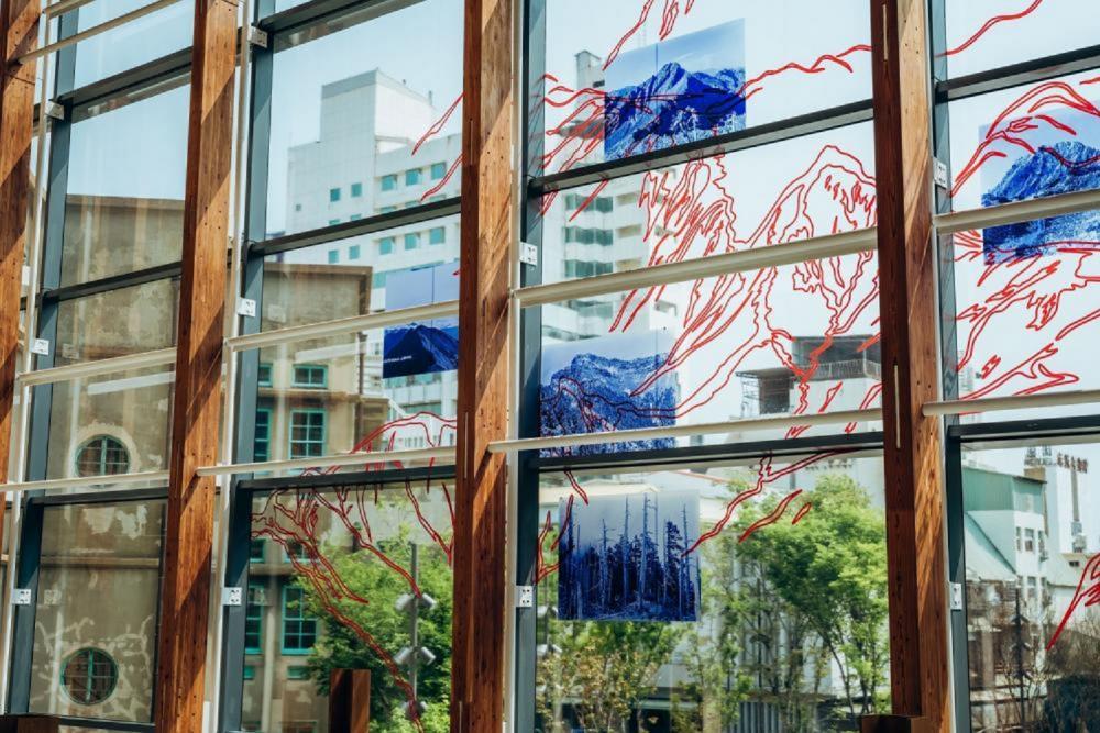 玻璃窗/市立美術館/美術空間/嘉義/台灣