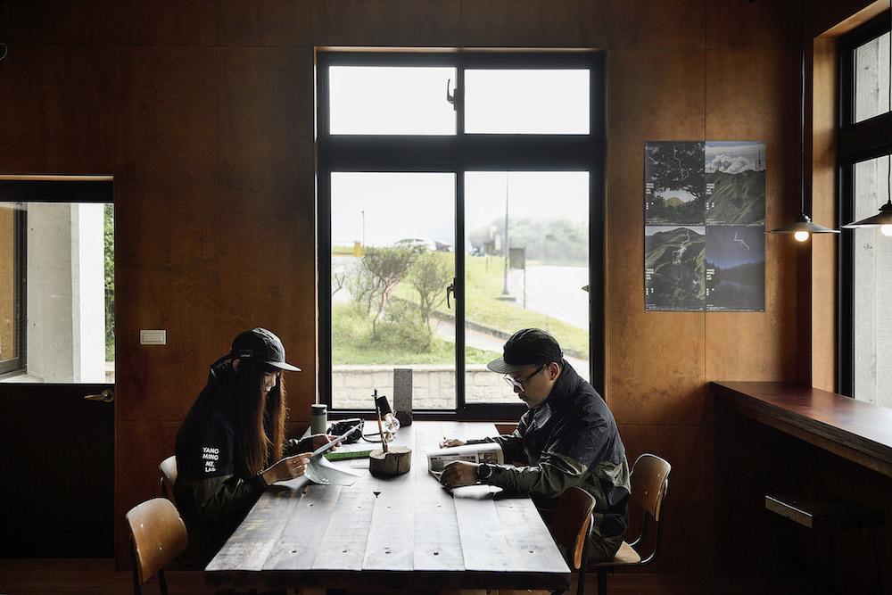 空間/火山咖啡/陽明實驗山屋/格式設計展策/陽明山/YANGMING MOUNTAIN LAB/台灣