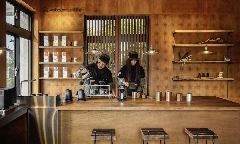 空間/火山咖啡/格式設計展策/陽明山/YANGMING MOUNTAIN LAB/台灣