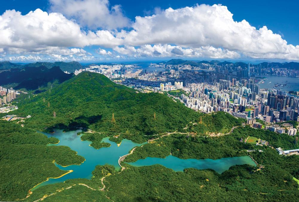 風景/九龍水塘/香港