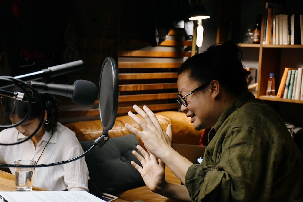 人物/Y.M. Podcast 陽明山屋電台/陽明實驗山屋/格式設計展策/陽明山/YANGMING