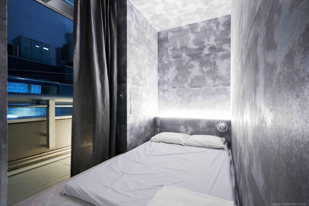 床/BOOK AND BED TOKYO/膠囊旅館/東京/日本