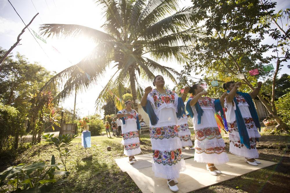 當地居民/特色文化/貝里斯/中美洲