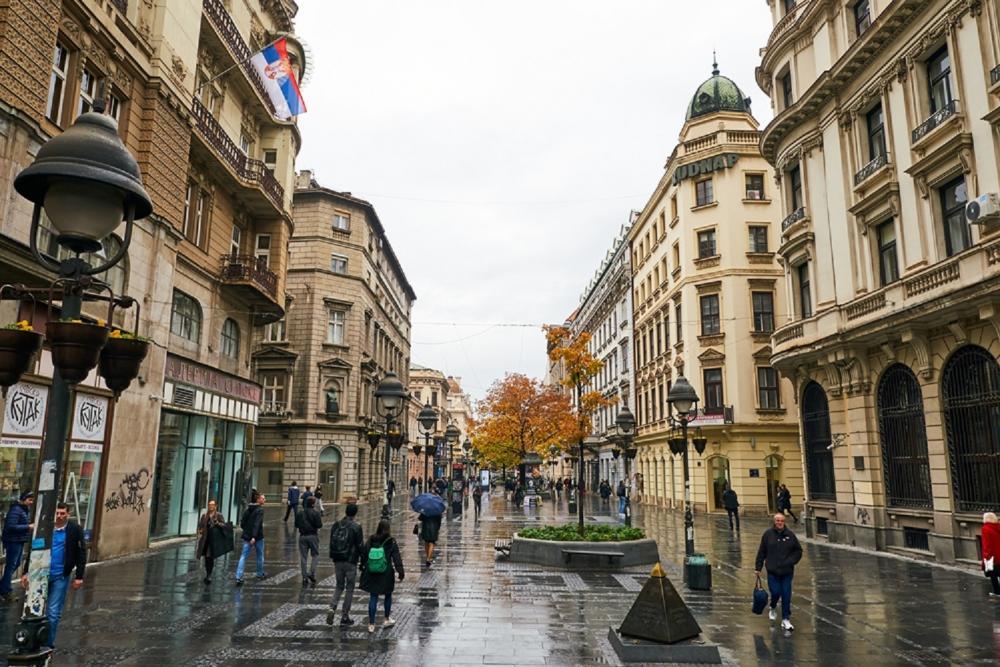 白色建築/白色之城/貝爾格勒/塞爾維亞