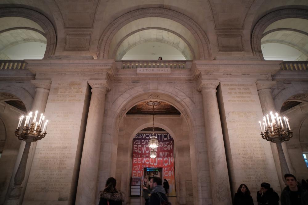 館內/紐約公共圖書館/紐約/美國