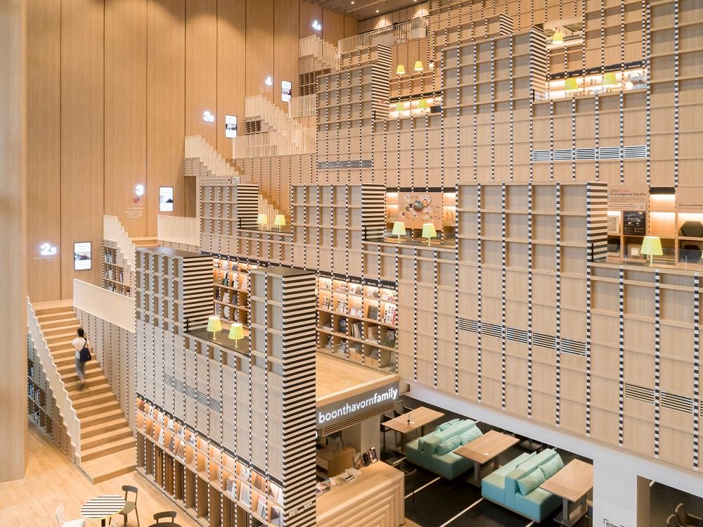 內部空間/Workspace/圖書館/曼谷/泰國
