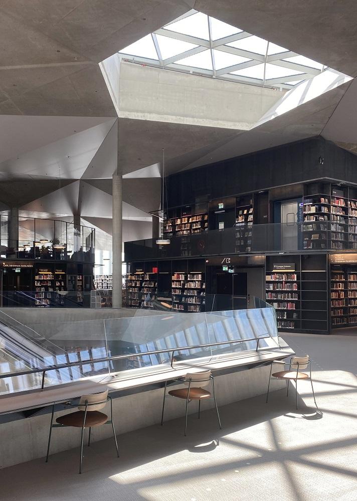 內部/奧斯陸中央圖書館/挪威/北歐