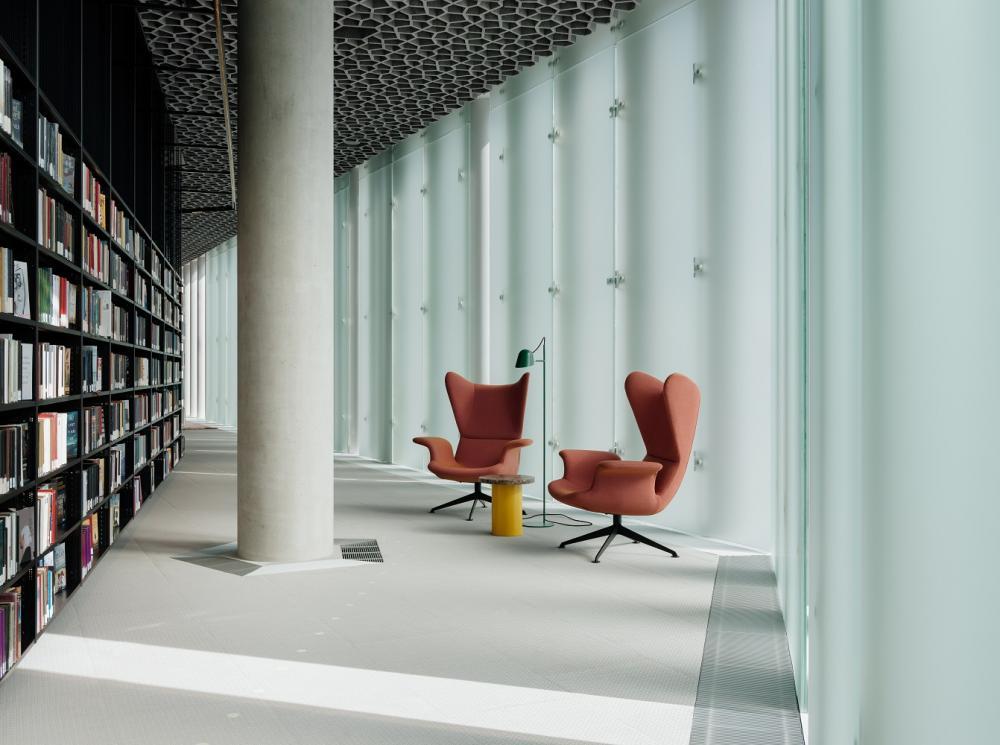座位區/內部/奧斯陸中央圖書館/挪威/北歐