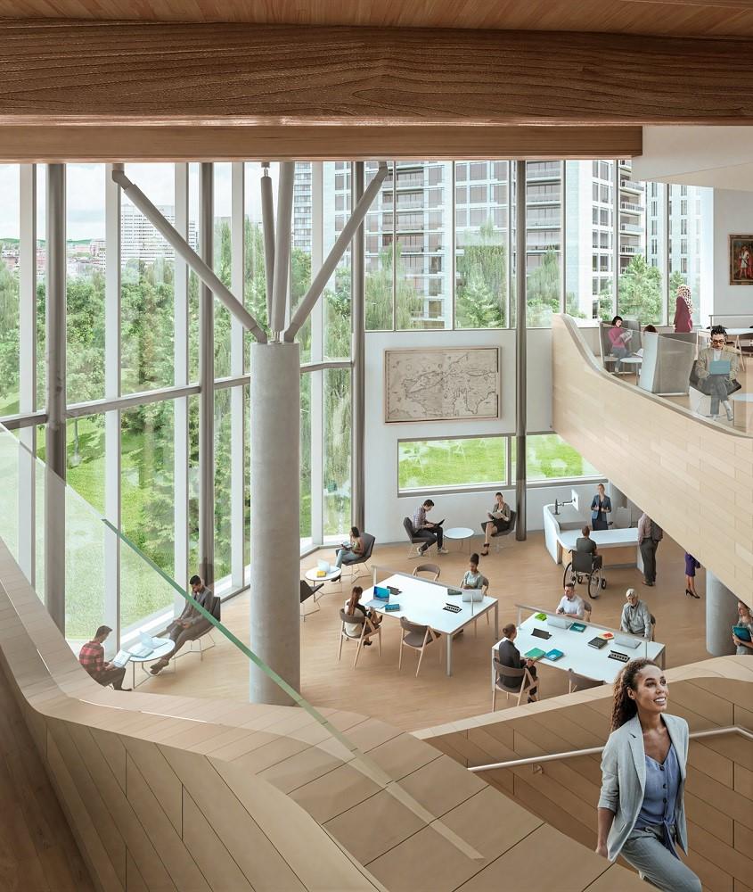 渥太華圖書館/建築/加拿大