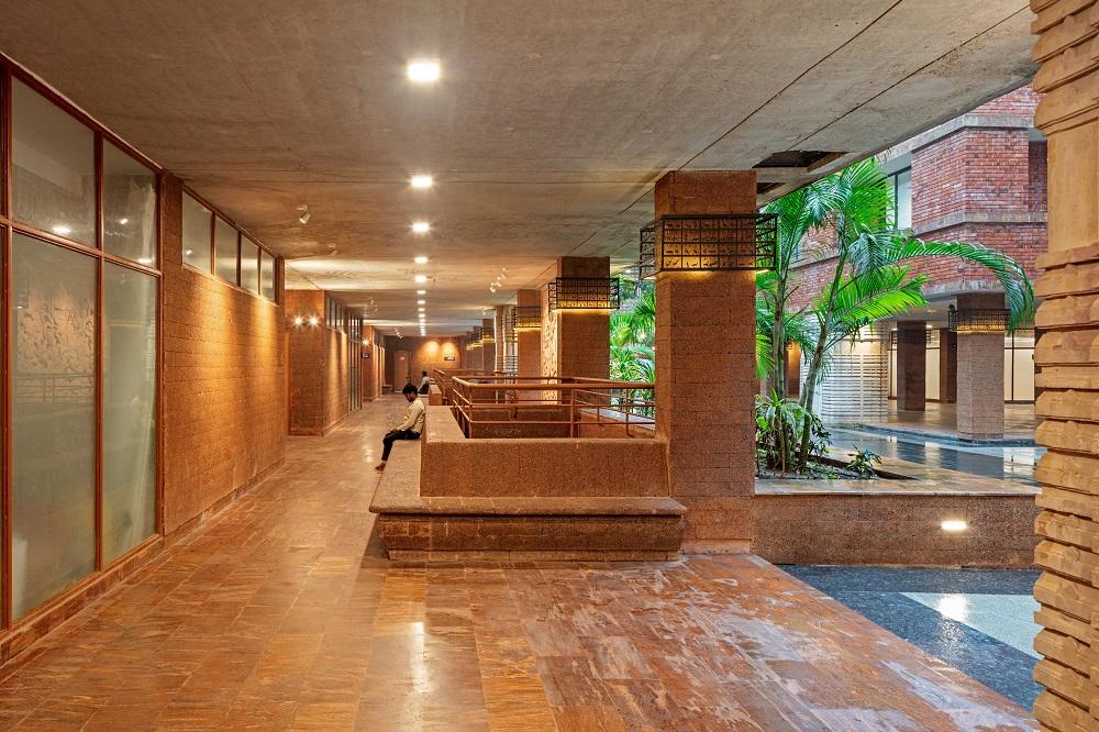 空間/Krushi Bhawan/辦公大樓/奧里薩邦/印度