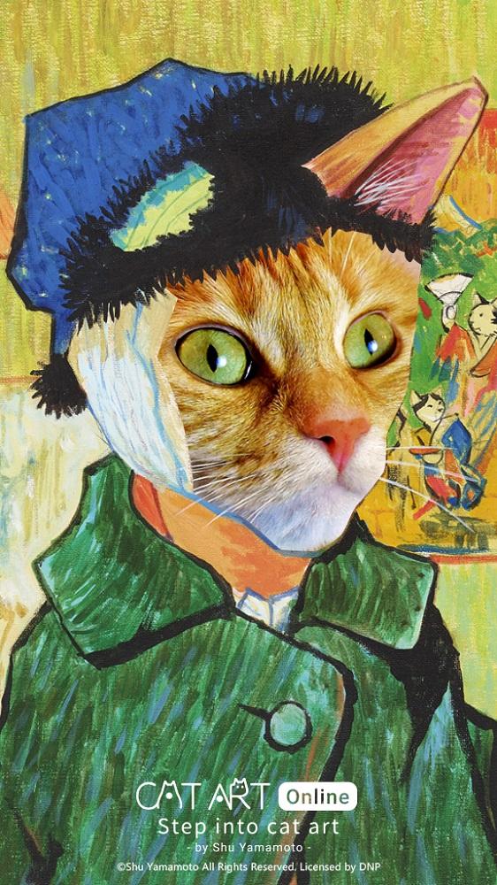 作品/Step into Cat Art 走進喵次元/貓・美術館/線上展覽/台灣