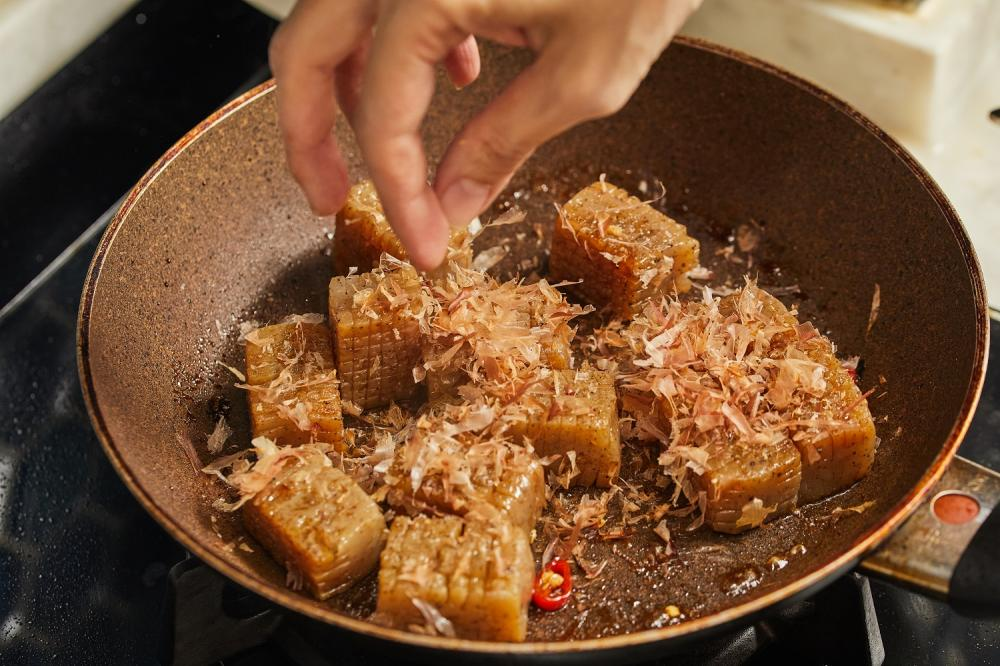 鹹甜滷蒟蒻/下酒菜/美食/台灣