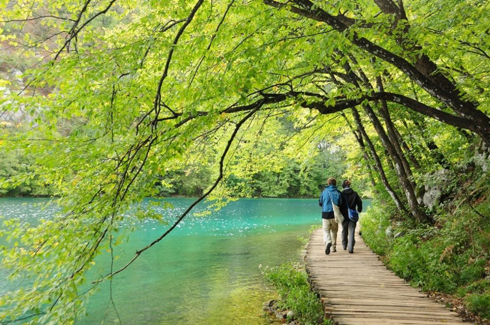 湖畔美景/旅遊/普列提維切湖/克羅埃西亞