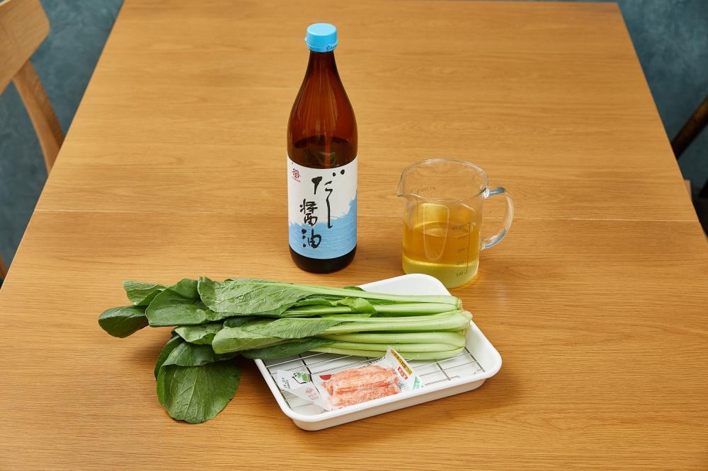 蟹肉棒拌高湯蔬菜/下酒菜/美食/台灣