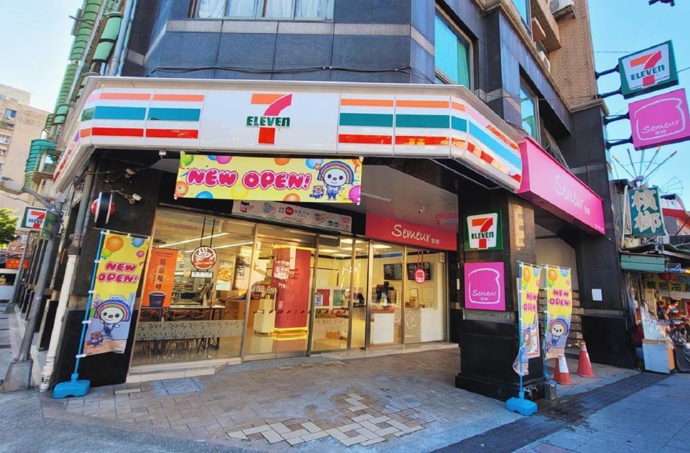 店面外觀/Semeur聖娜/7-ELEVEN/台北/台灣