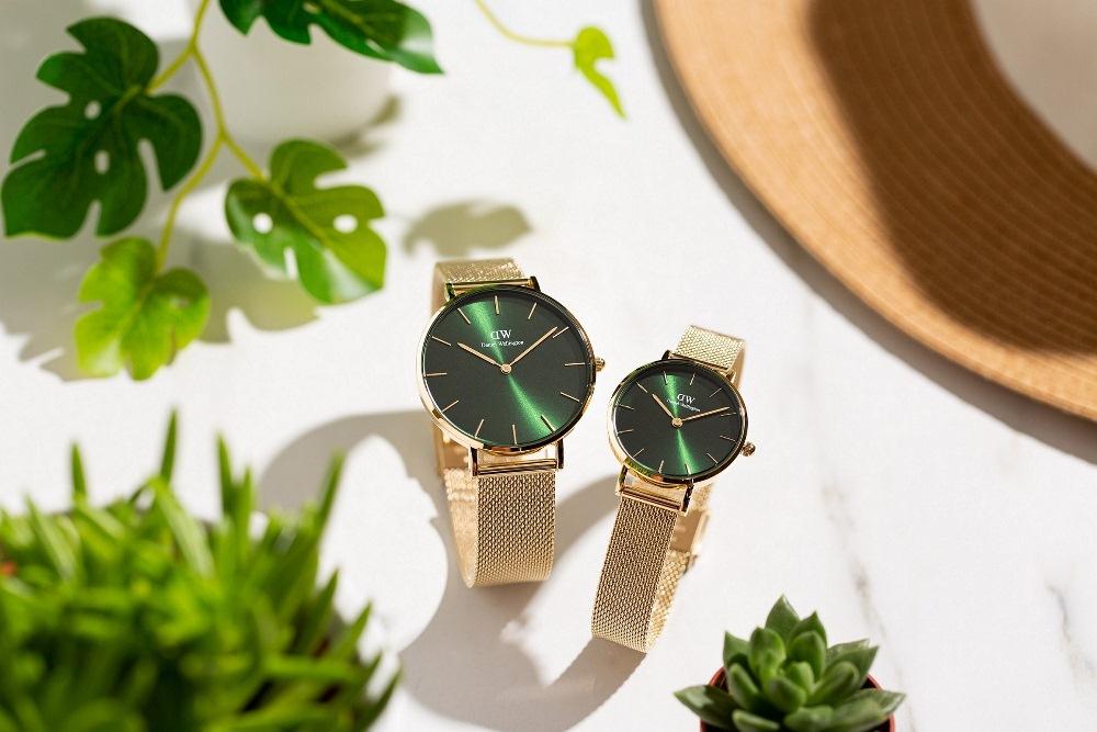 Petite Emerald 幻彩森林綠腕錶/Color Dials 幻彩系列/腕錶/Daniel