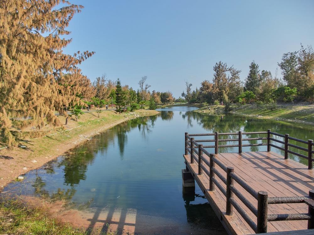 湖邊/台東森林公園/自行車道/台東/台灣