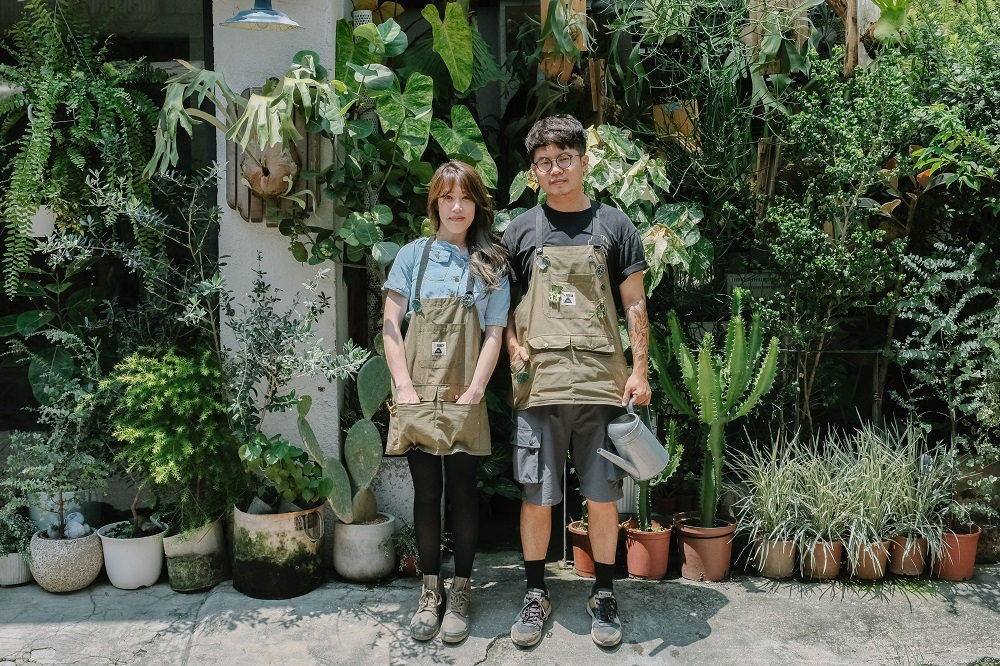 James夫妻/Corner Green植角工作室/植物/創意生活/新竹/台灣