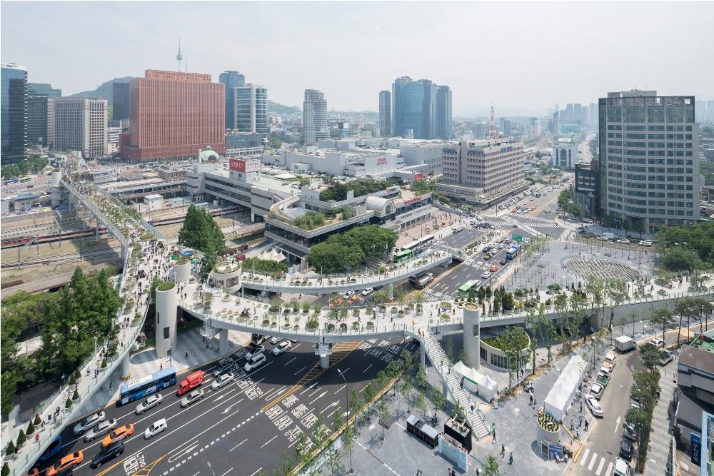 Seoullo 7017/景點/首爾/韓國/首爾必去