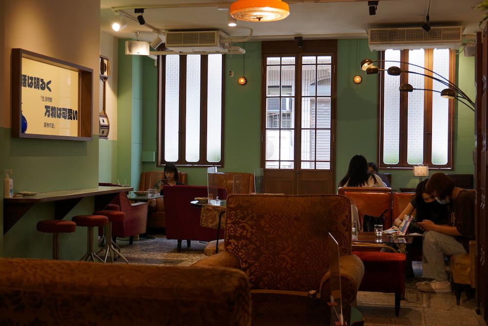 內部空間/Tella Tella Café/赤峰街/台北咖啡廳/中山站/雙連站/台灣