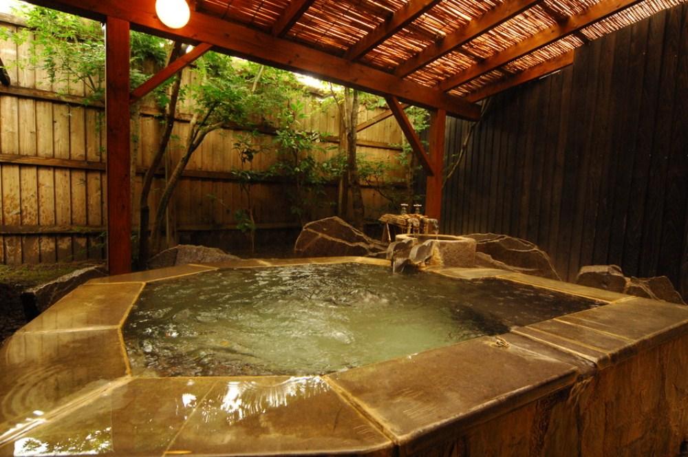 獨享一室露天風呂