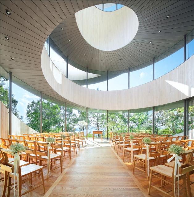 瀨戶內海纏綿如緞,廣島絕景教堂
