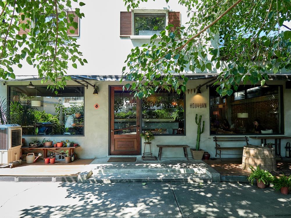 雲林小鎮後院咖啡廳